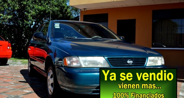 Nissan Sentra B14 1996, Manual, versión USA Financio hasta totalmente.