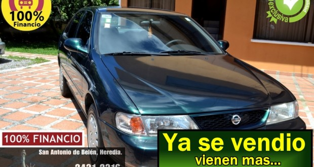 Nissan Sentra B14 1996, Verde, Manual, versión USA Financio hasta totalmente.